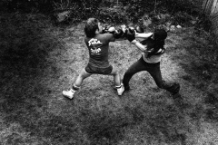 TIM AND KEN BOXING 1976