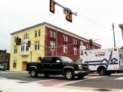 Tony_Ward_Studio_old_court_house_Radford_Virginia_emergency_vehichle