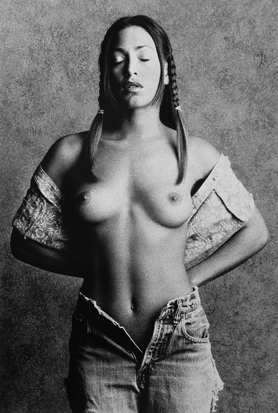 Tony_Ward_photography_early_work_casting_calls_topless_jeans_pigtails_young_beauty_nudes_erotica