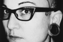 Tony_Ward_early_work_close_ups_1990's_ringflash_vintage_eyewear_ear_piercings