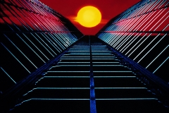 Tony_Ward_early_special_effects_analog_photography_80's_composites_sunset_modern_building_graphics