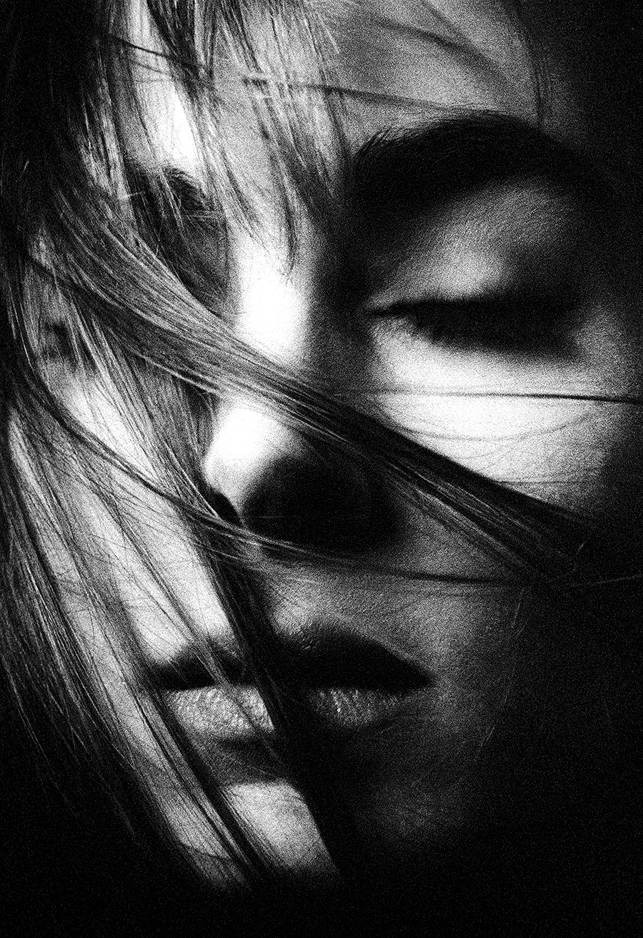 Tony_Ward_Photography_portfolio_classics_1995_Blake_dreaming_early_portraiture_blown_hair_meditation
