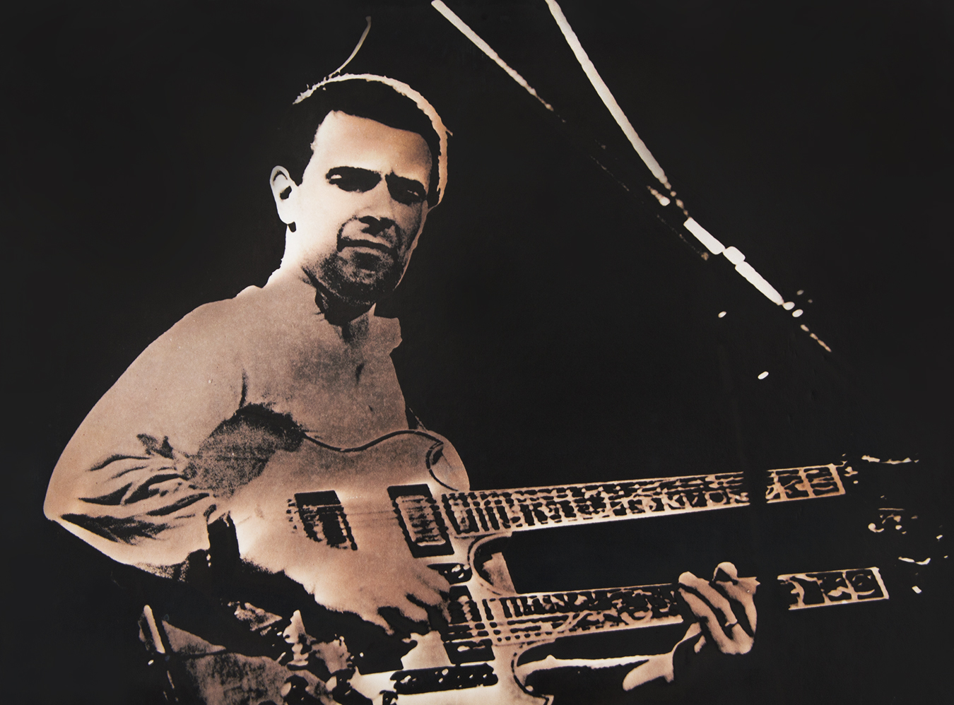 Tony_Ward_early_work_musician_John_McLaughlin_Franklin_Marshall_College_1974