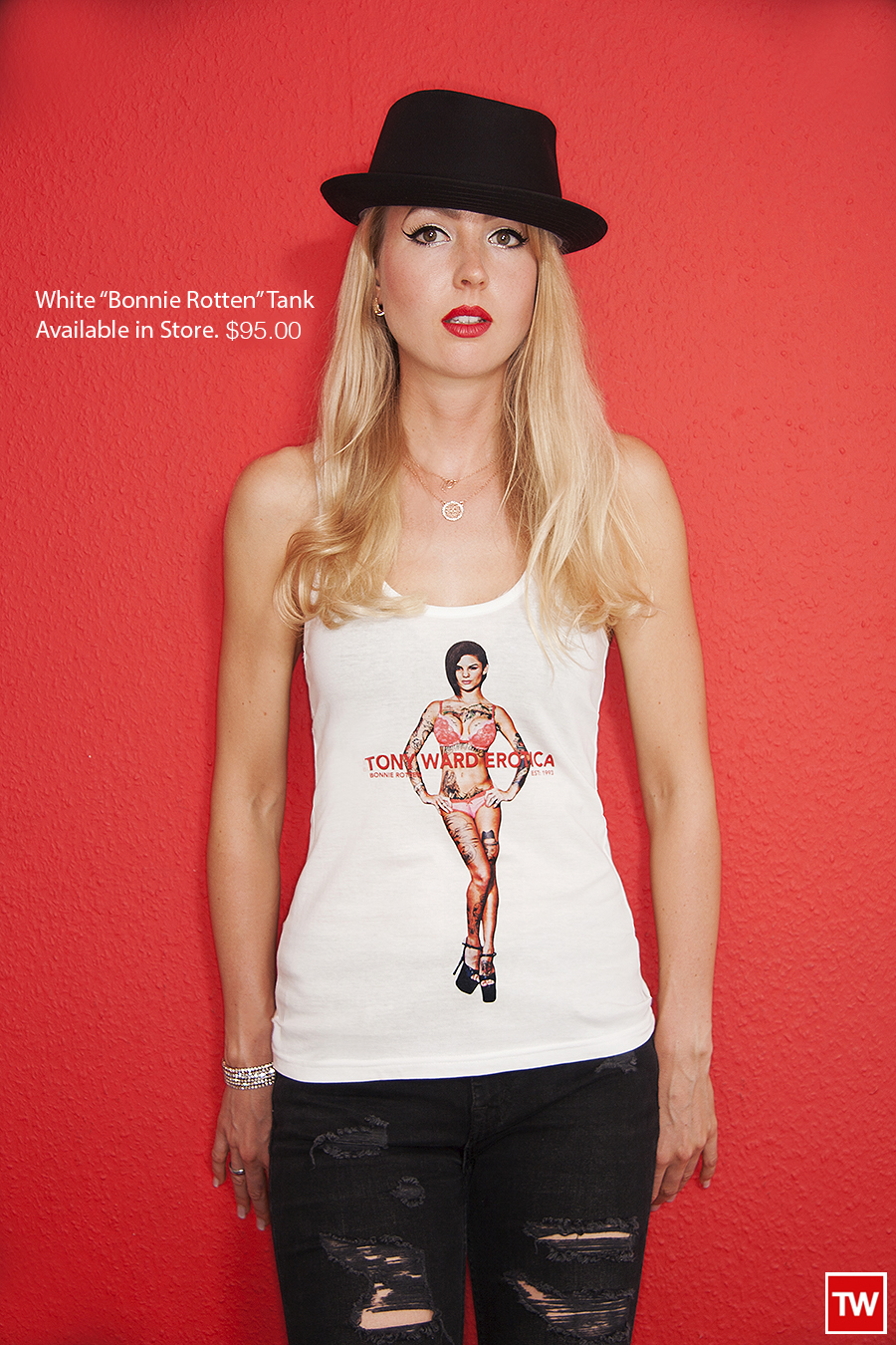 Tony_Ward_erotica_white_Bonnie_Rotten_tank_sexy_porn_wear_style_new_price
