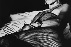 Tony_Ward_photography_early_work_portfolio_classics_Sandy_fishnet_bodysuit_fetish_earrings