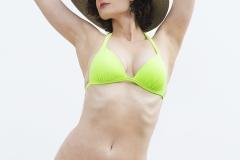 Tony_Ward_photography_model_Sidnie_Burton_sun_bathing_bikinis_summer_hats_lime_suit