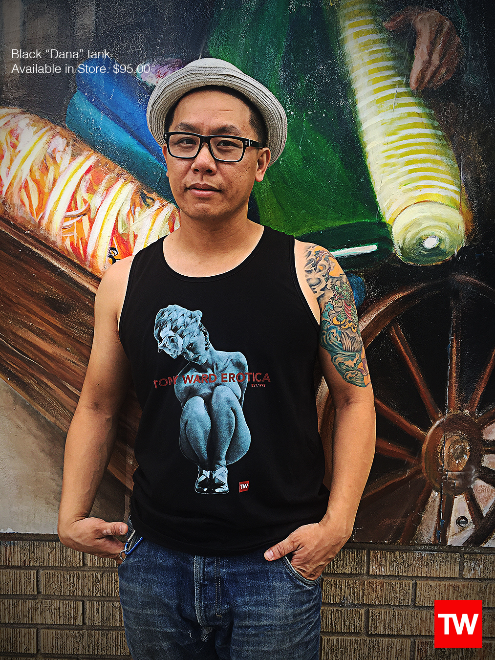 Tony_Ward_Studio_e_commerce_store_t-shirts_black_dana_tank_sale_model_Doug_Wong