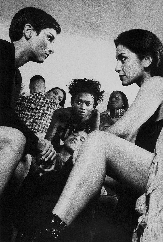 Tony_Ward_early_work_tableaux_viivant_party_scene_girls_flirting