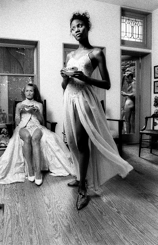 Tony_Ward_studio_tableaux_vivants_monica_walker_black_models_philadelphia_tea_time_Lydia_Hun_