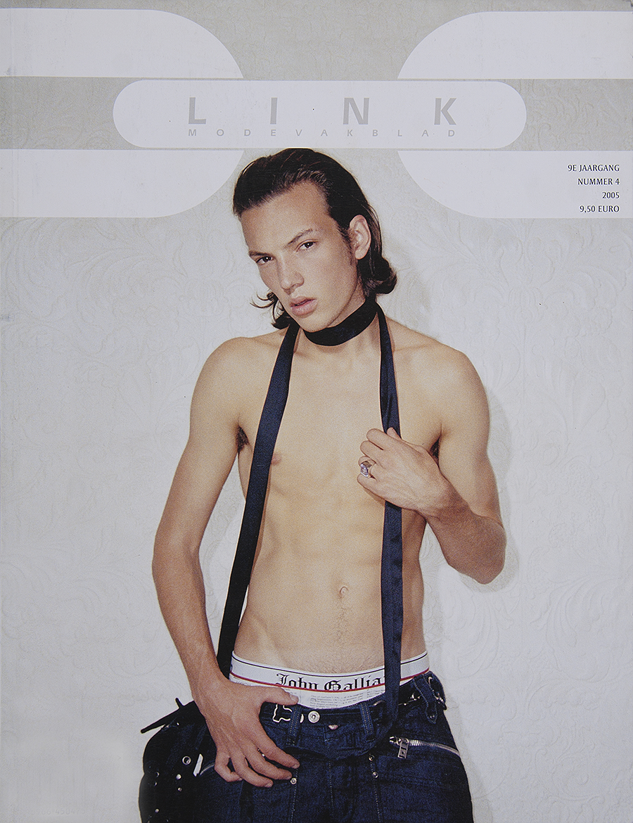 Tony_Ward_Studio_Link_magazine_archive_male_model_covershot_amsterdam