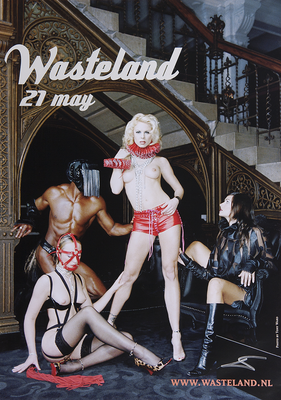 wasteland poster by tony ward amsterdam netherlands