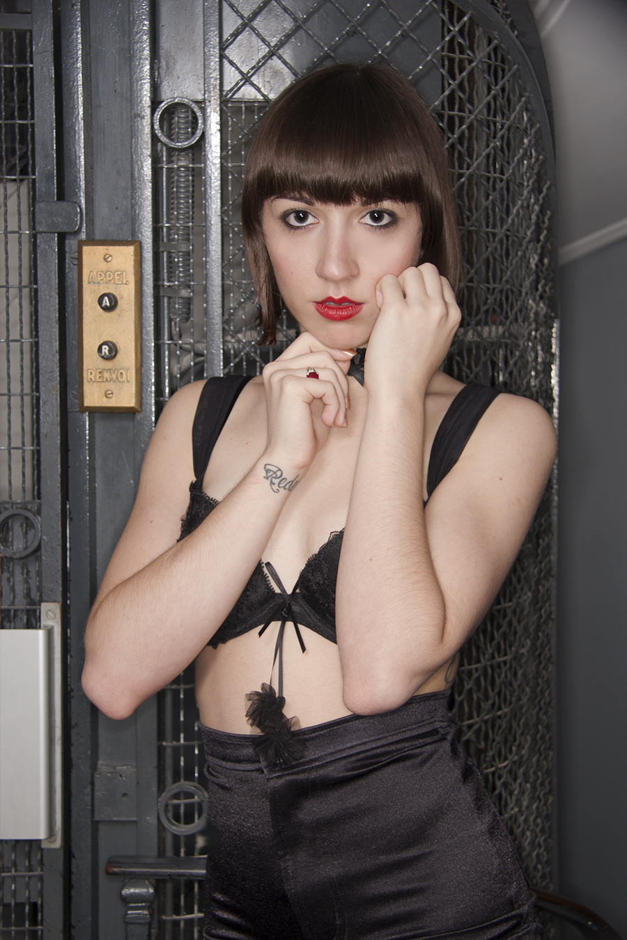 Tony_Ward_Erotica_photography_Alice_Paris_Alba_Opera_Hotel_french_nude_model_old_french_elevator