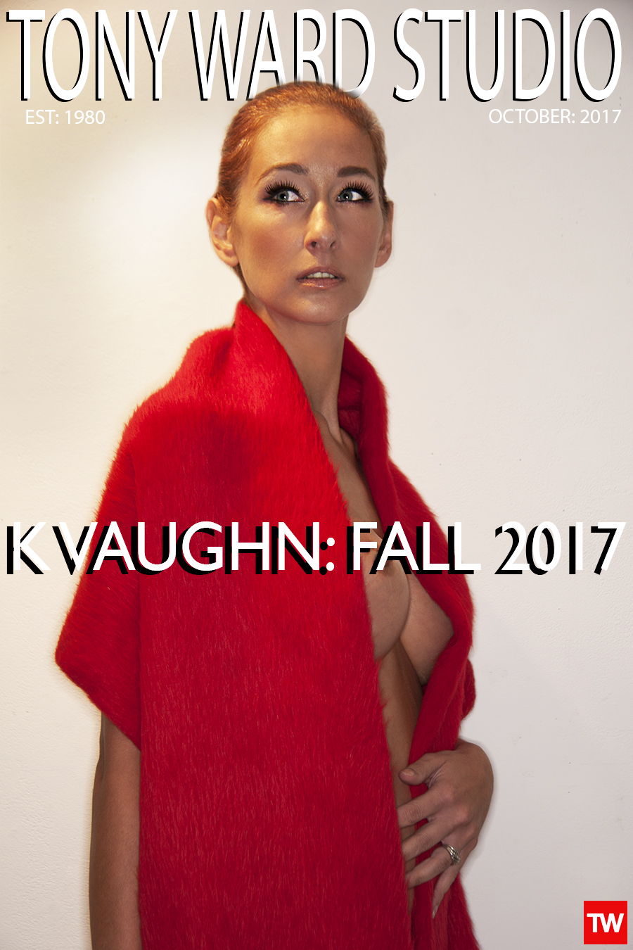 Tony_Ward_Studio_K_Vaughn_Red_mohair_scarf_woman_nude_sexy_luscious_fabric_design