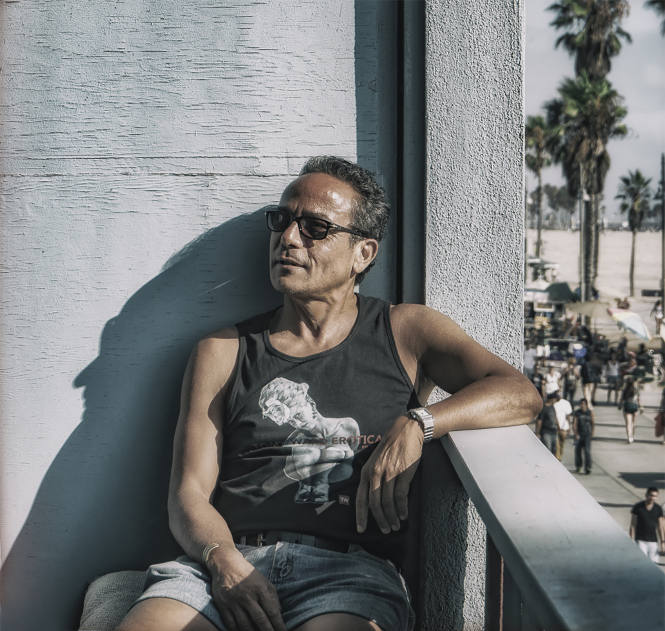 Portrait of Tony Ward by Ed Simmons, Copyright 2018