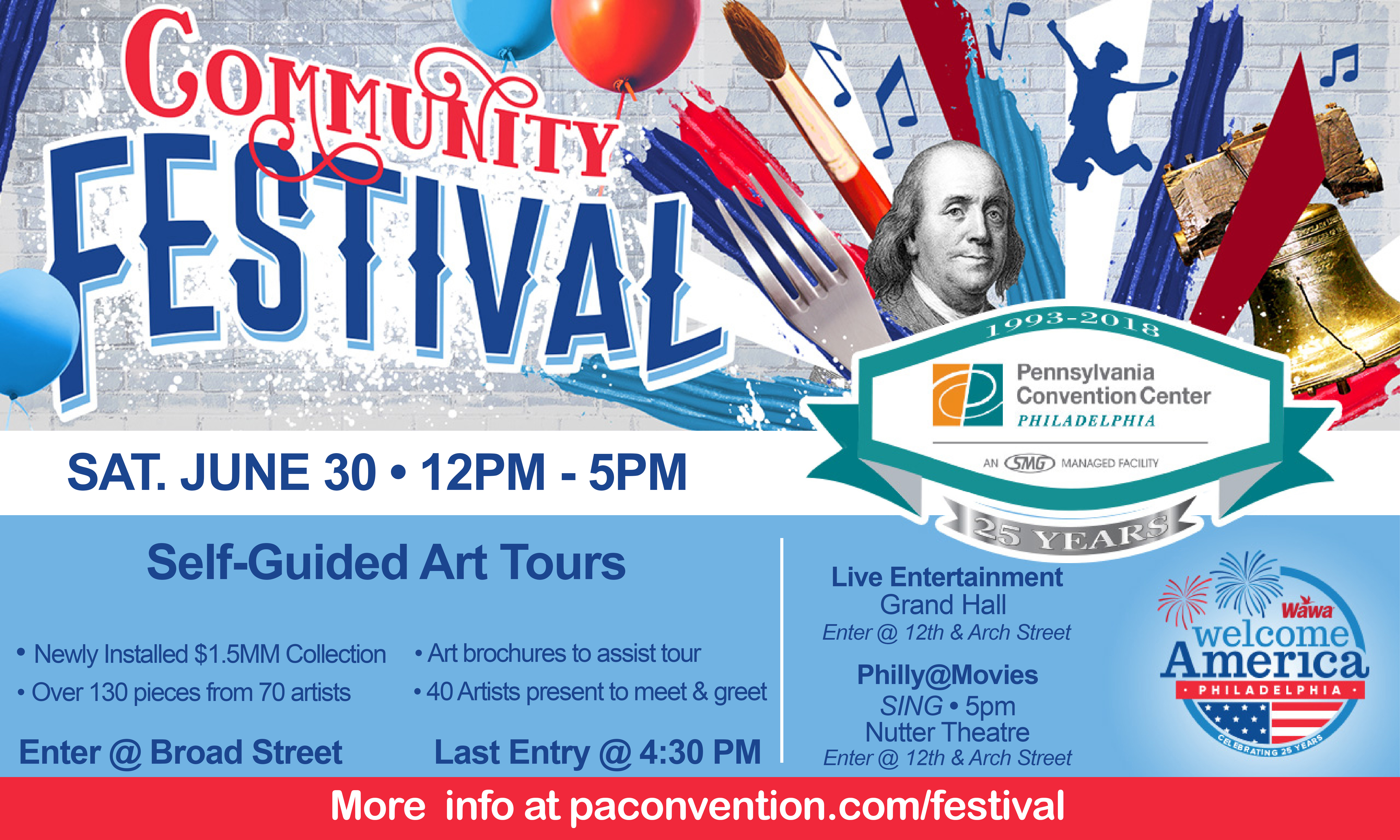 CC PACC June 30th West Wing Art Tours Ad_festival