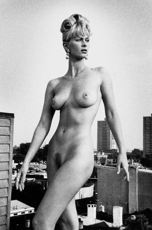 Tony_Ward_early_work_portfolio_classics_nudes_1990's_rooftop_vintage_hat_model_Dana_view_obsessions_full_frontal_nudity_natural_big_breasts_unshaven_50_foot_woman_4L.jpg