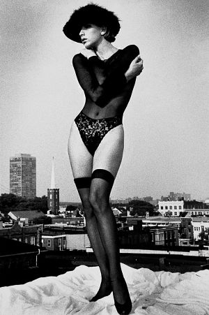 Tony_Ward_early_work_portfolio_classics_nudes_1990's_rooftop_vintage_hat_model_Michelle_Mallin_rooftop_view_obsessions_vintage_lingerie_thigh_highs_14R.jpg
