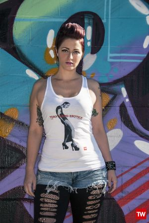 Tony_Ward_Erotica_tattoos_t-shirts_white_Luna_racerback_womens_model_stylist_Mindy_Chandler_graffiti_art_philadelphia.jpg