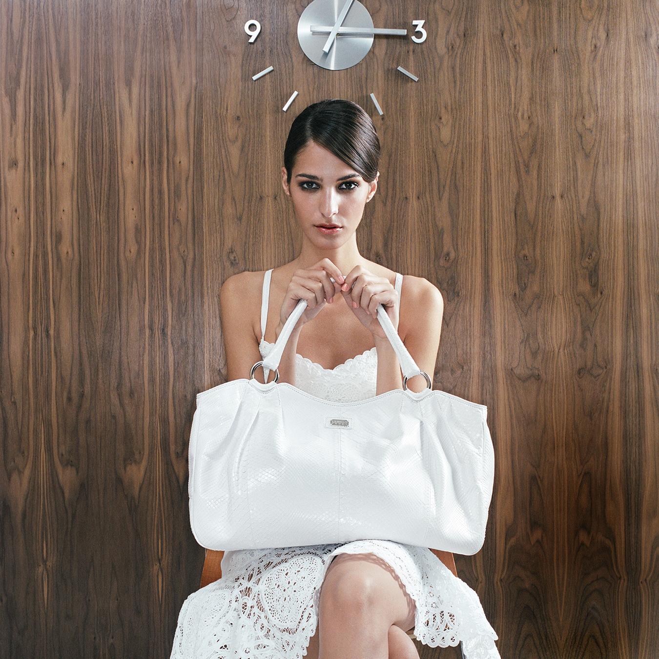 Tony_Ward_fashion_photography_Neiman_Marcus_handbags_catalogue_location_Palm_Springs_California_model_Emina_Cunmulaj_white_bag_dress