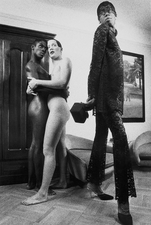 Tony_Ward_early_work_1990's_tableaux_vivants_J_Alexander_New_York_model_trainer