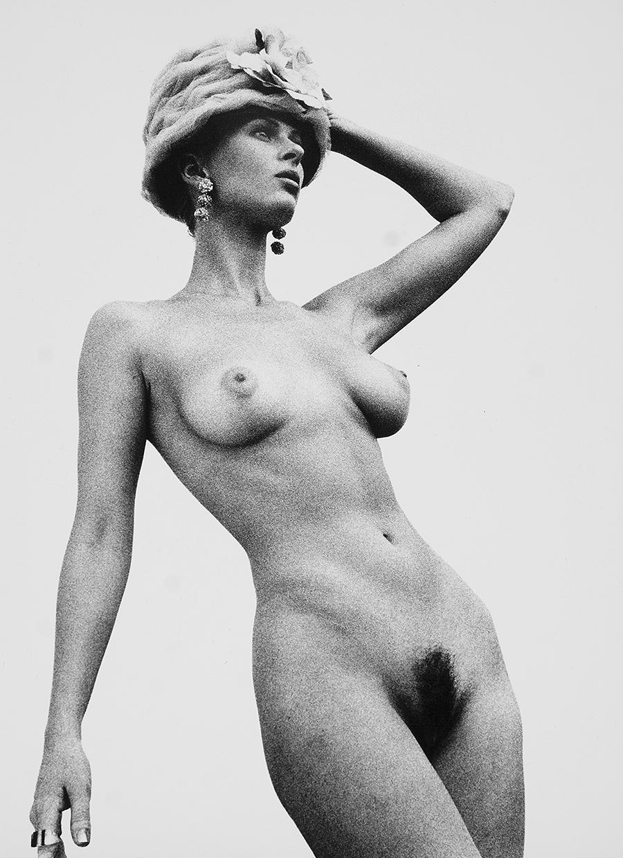 Tony Ward Erotica fashion nudes unshaven natural breasts vintage hats
